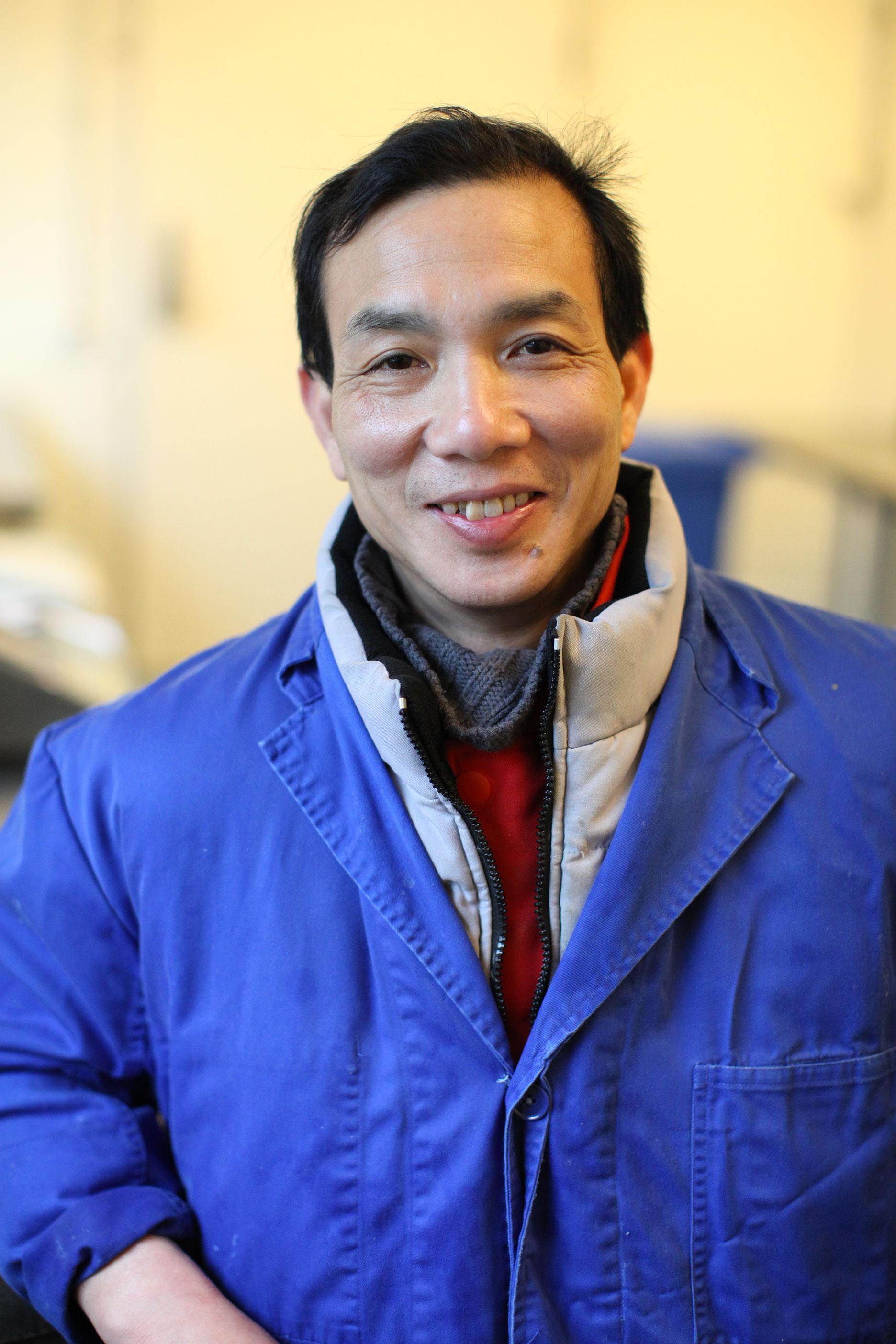 Van Dung Nguyen - Responsable du laboratoire